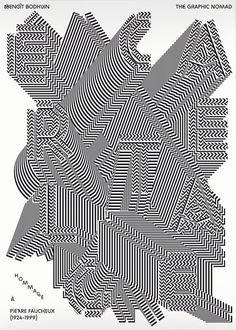 """""""Hommage à Pierre Faucheux"""" — A tribute to Pierre Faucheux withMathieu Cieters. - typography - graphic - design"""