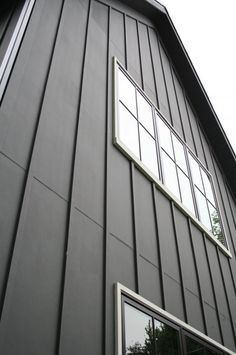 Trucedar steel board batten in color napa vine lifetime warranty lasts longer than vinyl Exterior board and batten spacing