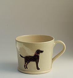 Hogben Pottery Black Labrador mug  Nina would love this!!!
