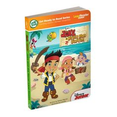 LeapFrog LeapReader Junior Book: Disney's Jake and the Never Land Pirates (works with Tag Junior) ** Additional details @