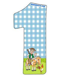 Numeros de La Granja de Zenon para descargar gratis | Mi Barquito Farm Birthday, Cool Birthday Cakes, Birthday Parties, Car Cake Tutorial, Geek Magazine, Birthday Numbers, Lightning Mcqueen, Social Platform, Little Babies