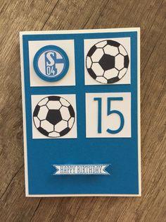 Geburtstag; Fußballkarte; Schalke 04;