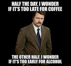 When you look to coffee and booze for strength: | 26 Pictures Literally Every Parent Will Relate To