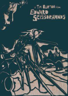 Edward Scissorhands by Dan Sherrat