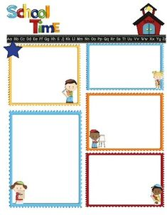 school text box clipart. fully editable text boxes in ms word great for preschool or kindergarten notes home back to school anytime box clipart x