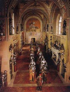 Il Museo Stibbert a Firenze si trova nell'omonima via collinare al numero 26. Vi sono esposte armi antiche ed oggetti d'arte.