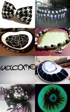 It's all Black and White to Me!! - Get Noticed Treasury by Irene--Pinned with TreasuryPin.com