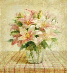 Art by Danhui Nai – flower paintings