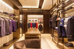 Brioni Store by Studio Park Associati, Singapore fashion