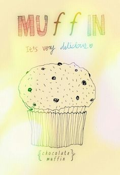 CHOCOLATE_muffin ♥ Chocolate Muffins, Snoopy, Fictional Characters, Chocolate Chip Muffins