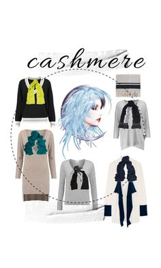 """Cashmere"" by lalu-papa on Polyvore featuring Madeleine Thompson, Magaschoni, Splendid, Isabel Marant and Joseph"