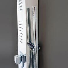 Colonne de douche multi-jets, Stainless miroir, LUX***Multi-jet shower panel, Mirror stainless, LUX
