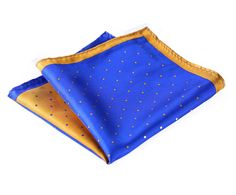 Now available on our store:Blue Yellow Micro... Check it out here! http://bjcloth.com/products/blue-yellow-micro-dot-100-silk-pocket-square?utm_campaign=social_autopilot&utm_source=pin&utm_medium=pin
