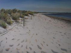 Spring Time Studland Spring Time, Paintings, Canvas, Beach, Water, House, Outdoor, Ideas, Art