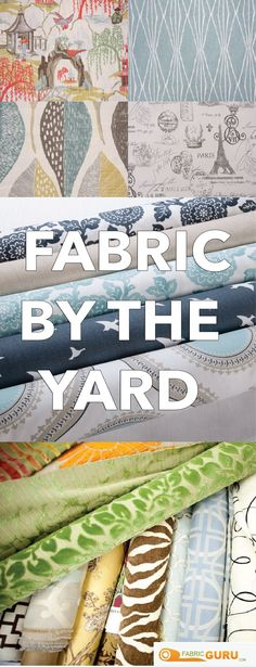Fabricguru carries over 15,000 fabrics of all types and brands. From upholstery to drapery, Robert Allen to Richloom, Fabricguru has exactly what you're looking for. Order today and our exceptional staff will cut your fabric to order. And with only $4.99 shipping on every purchase, you can't go wrong. Order today at fabricguru.com, we know you'll find something that you love. #fabricguru