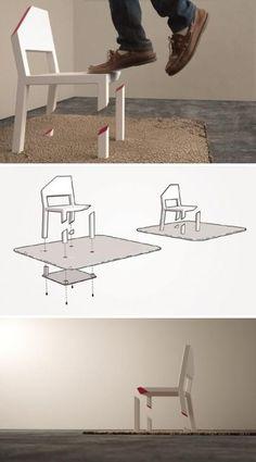 Creative chair design 6-22