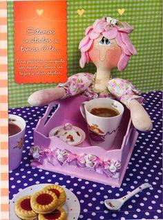 Revistas de manualidades Gratis: Muñecas de tela paso a paso