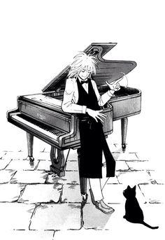 Piano No Mori Sub Indo : piano, Ideas, Piano, Anime, Piano,, Bosque