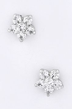 Sparkle Floral Earrings.