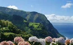 beatiful-green-mountain-in-the-summer-I can almost smell the salt air and fowers - wonderful