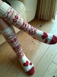 Ravelry: annemariep's Min Ulla slipper socks