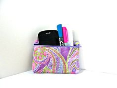 Quilted Accessory Case by TheQuiltHandler on Etsy, $12.00