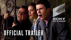 #GOOSEBUMPS starring Jack Black as R.L. Stine, Dylan Minnette, Odeya Rush, Amy Ryan, Ryan Lee, Jillian Bell   Official Trailer   In theaters October 16, 2015 #GoosebumpsMovie