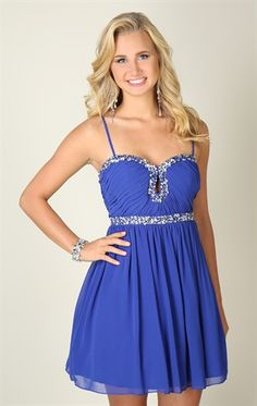 Deb Shops Plus Size Strapless High Low Homecoming Dress with ...
