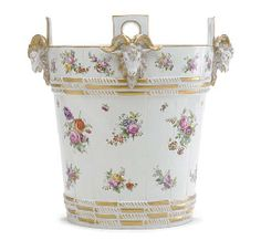French milking pail for Marie Antoinette by Sevres'