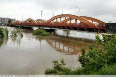 Most Trzebnicki, widok w kierunku północnym #Wroclaw