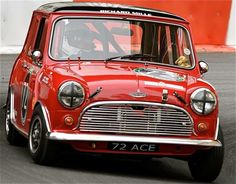 Classic Mini, Classic Cars, Mini Stuff, Mini Coopers, Mini Me, Motorcycles, Racing, Girls, Ideas
