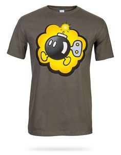 This Adorable T-Shirt Design Showcases a Recognizable Super Mario Character trendhunter.com