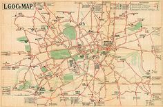 """""""Pocket Bus Map"""", 1914, issued by the London General Omnibus Company Ltd. The London transport network not only inspired Harry Beck's famous tube map, it has birthed a dazzling array of posters, designs and cartographic artwork for more than 100 years. Now a new exhibition, """"Mind the Map: Inspiring Art, Design and Cartography"""", at the London Transport Museum until 28 October, brings together the museum's most remarkable artworks."""