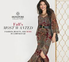 #FashionFriday Look at this amazing outfit coming in The Fall Signature Collection from Avon.