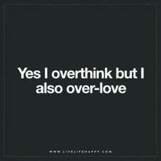 I over everything