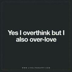 I over everything