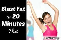 You DO have time for this efficient workout! 20-Minute Fat Blasting Workout | via @SparkPeople #fitness #exercise #video