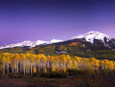 Colorado Twilight by Michael Anderson by AndersonImages, via Flickr