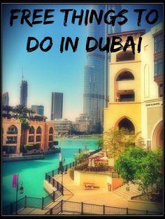 free things to do in dubai #dubai #mydubai