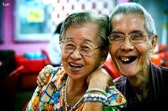 Grandma and Grandpa by Jason D' Great