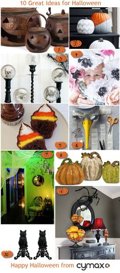On the Cymax Blog: 10 Great Halloween Ideas