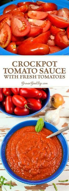 easy, crockpot tomato sauce made with fresh tomatoes is rich and flavorful. This easy, crockpot tomato sauce made with fresh tomatoes is rich and flavorful. This easy, crockpot tomato sauce made with fresh tomatoes is rich and flavorful. Crock Pot Recipes, Canning Recipes, Slow Cooker Recipes, Italian Recipes Crockpot, Easy Canning, Crockpot Meals, Pork Recipes, Recipies, Crock Pot Slow Cooker
