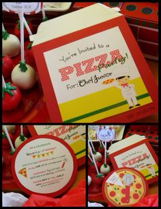 MKR Creations: Kids Chef Pizza Party Theme!