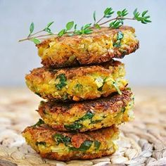 Veggie Patties Recipe no. 6   This is a healthy vegan falafel recipe, without…