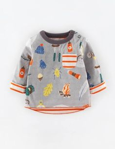 Reversible Printed T-shirt - I wonder if Ted would still fit in a 2-3 BabyBoden...