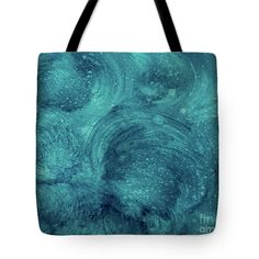 "Abstract Weekender Tote Bag featuring the painting ""Lost Atlantis"" by #LynnTolson #FineArtAmerica #FashionToteBags #CanvasToteBags #Handbags #BeachBags #BeachTote #DesignerToteBags #DesignerPurses #LadiesFashion #WomensAccessories #BeachBag #LadiesPurse #CanvasBag #LadiesBags #BlueToteBag #BeachWedding #BridesmaidGift #BeachBride"