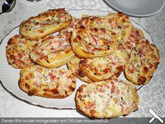 Party Essen: Der Party Käse-Brotigel geht schnell ...