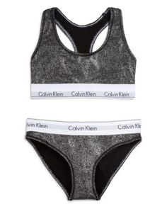 Calvin Klein Underwear Modern Cotton Bralette and Bikini Gift Set #QSET001 | Bloomingdale's  (((((((((black one)))))