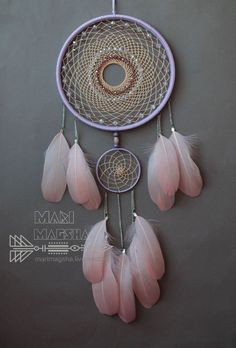 Hunters Artesanais sonhos. dream Catcher