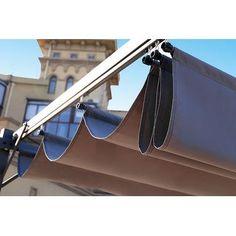 Backyard Canopy, Patio Gazebo, Pergola Canopy, Backyard Patio Designs, Canopy Outdoor, Outdoor Seating, Car Canopy, Fabric Canopy, Canopy Cover